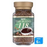 UCC 118精緻即溶咖啡100g*6
