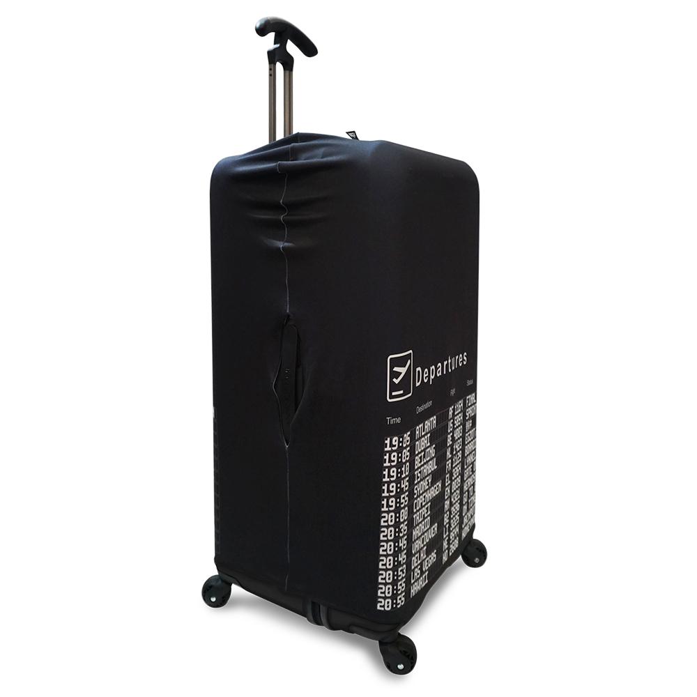 LOQI 行李箱外套|時刻表【XL號】 (適用Sport、冰箱系列行李箱)