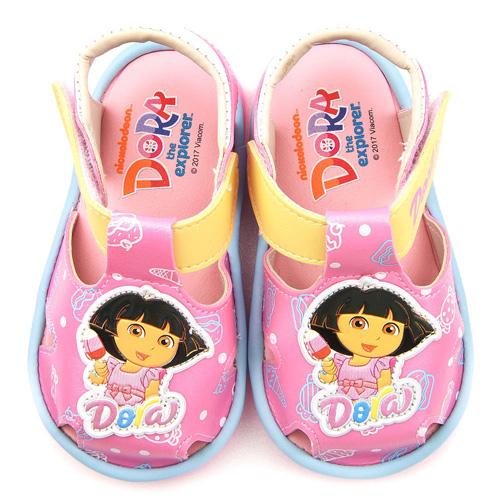 童鞋城堡~朵拉 小童 甜美款涼鞋DR3094~粉