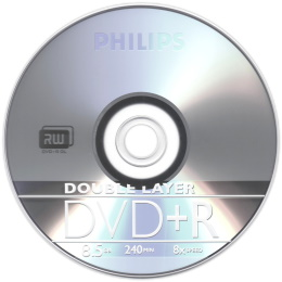 Philips 飛利浦 8X DVD+R Double Layer 10片