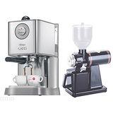 NEW BABY CLASS半自動咖啡機(HG0183) + Tiamo 半磅義式專用磨豆機 (HG0086)
