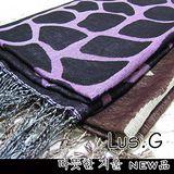 《Lus.G》石頭花圖騰圍巾