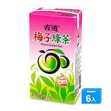 古道梅子綠茶300ml*6