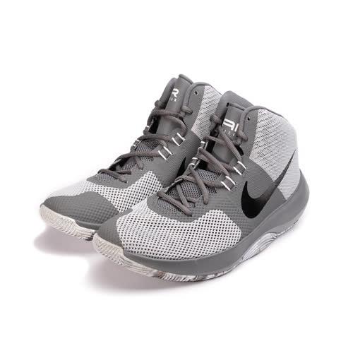 (男) NIKE  AIR PRECISION BASKETBALL 輕量避震籃球鞋 灰黑 898455-004 男鞋 鞋全家福
