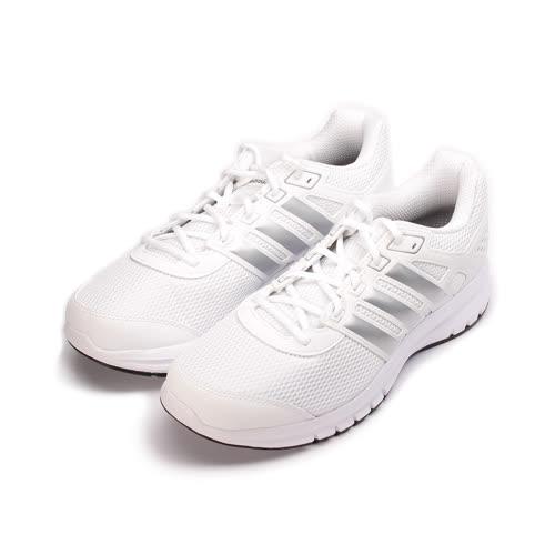 (男) ADIDAS DRUAMOLITE M 輕量吸震跑鞋 白灰 BA8105 男鞋 鞋全家福