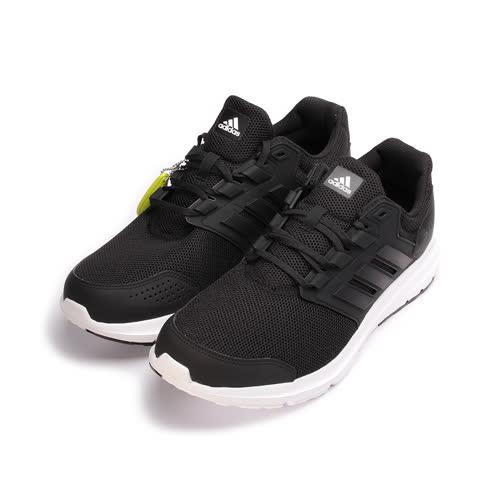 (男) ADIDAS GALAXY 4 M 吸震跑鞋 黑 BB3563 男鞋 鞋全家福
