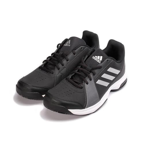 (男) ADIDAS APPROACH 網球鞋 黑銀 BY1602 男鞋 鞋全家福
