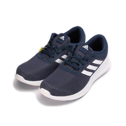 (男) ADIDAS ELEMENT REFRESH 3 M 限定版輕量跑鞋 深藍白 BY2894 男鞋 鞋全家福