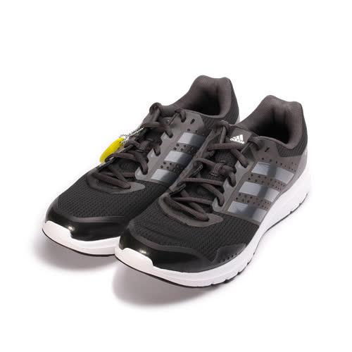 (男) ADIDAS DURAMO 7 M 限定版吸震跑鞋 黑 BA8050 男鞋 鞋全家福