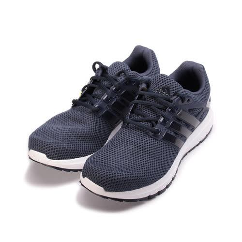 (男) ADIDAS ENERGY CLOUD M 限定版舒適跑鞋 灰黑 CG3006 男鞋 鞋全家福