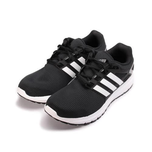 (男) ADIDAS ENERGY CLOUD WTC M 限定版透氣跑鞋 黑白 BA8151 男鞋 鞋全家福