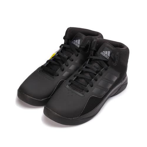 (男) ADIDAS CLOUDFOAM ILATION MID NEO 高筒避震籃球鞋 全黑 AW4651 男鞋 鞋全家福