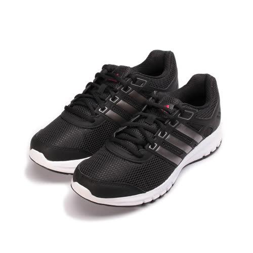 (女) ADIDAS DURAMO LITE W 限定版輕量吸震跑鞋 黑灰 BA8106 女鞋 鞋全家福