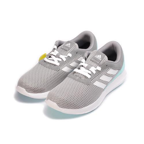 (女) ADIDAS ELEMENT REFRESH 3 W 限定版輕量跑鞋 灰綠 BY2888 女鞋 鞋全家福