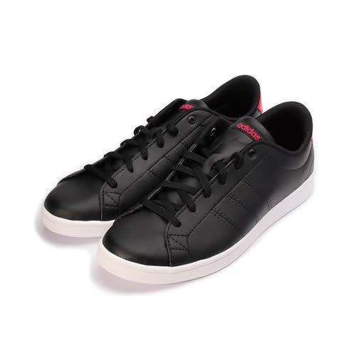 (女) ADIDAS ADVANTAGE CLEAN QT W NEO 復古網球鞋 黑桃 BB9610 女鞋 鞋全家福