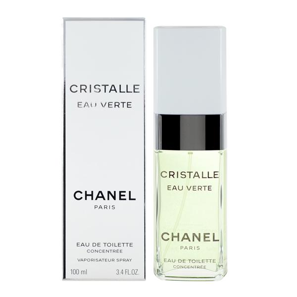 CHANEL 香奈兒 Cristalle 香水晨曦水晶版 淡香水 100ml Cristalle Eau Verte EDT