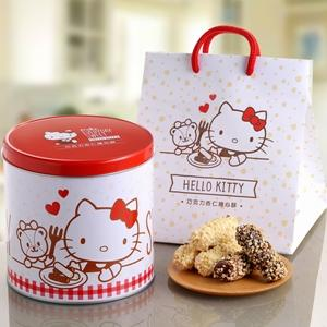 Hello Kitty. 預購-巧克力杏仁捲心酥禮盒 禮盒