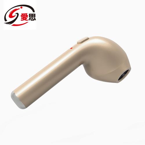 IS愛思單耳無線藍芽耳機HBQ-I7R - 金