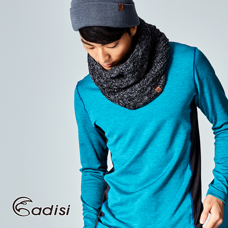 ADISI 美麗諾羊毛保暖 長 圍脖AS17101 F  城市綠洲專賣 舒適內裡、脖圍、紐
