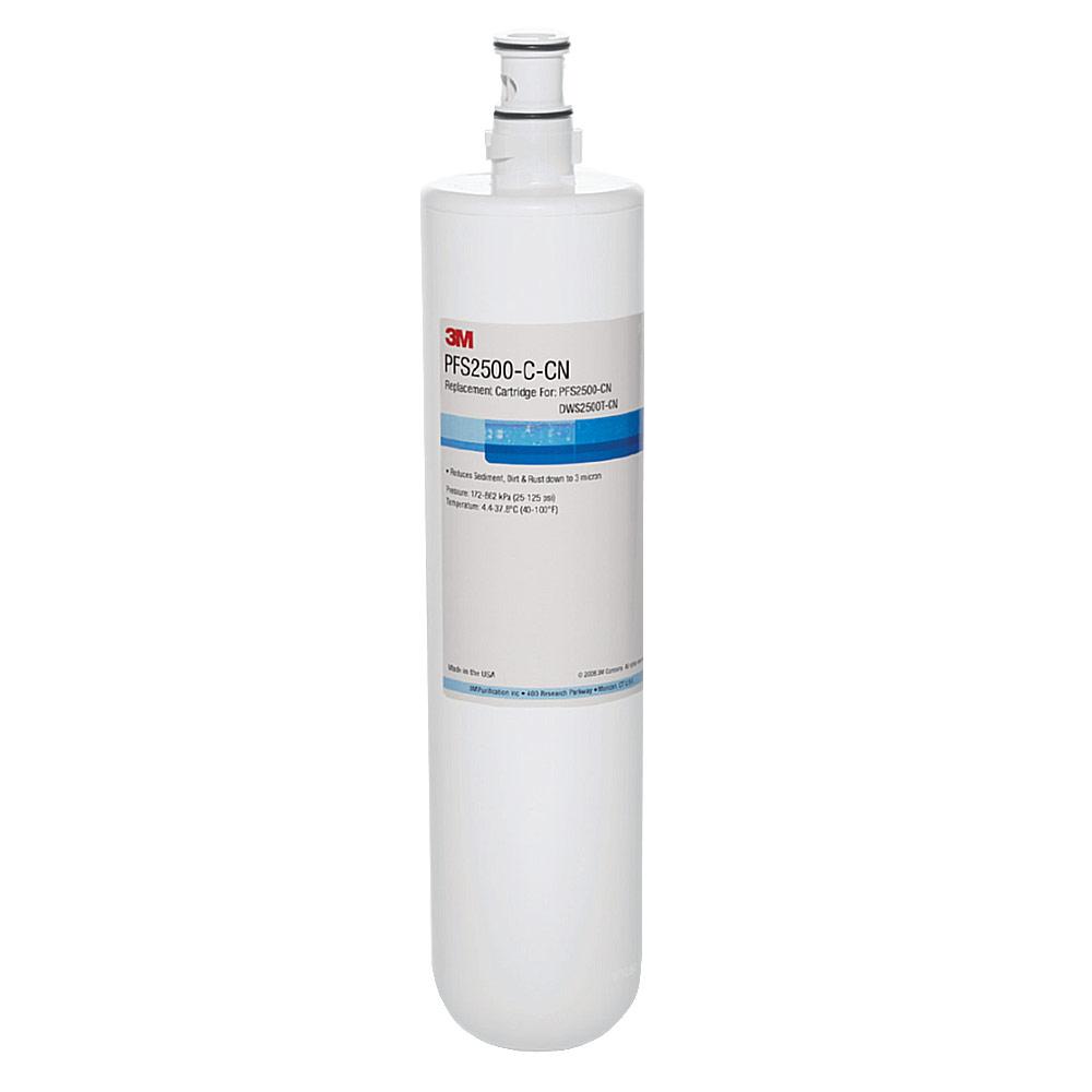 3M DWS2500智慧型淨水系統替換濾心 PFS2500~C~CN
