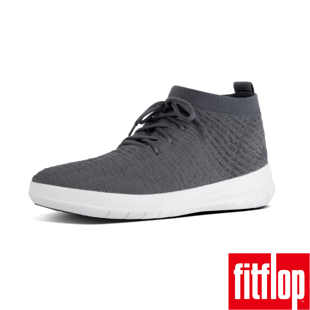FitFlop TM-UBERKNIT TM SLIP-ON HIGH TOP灰