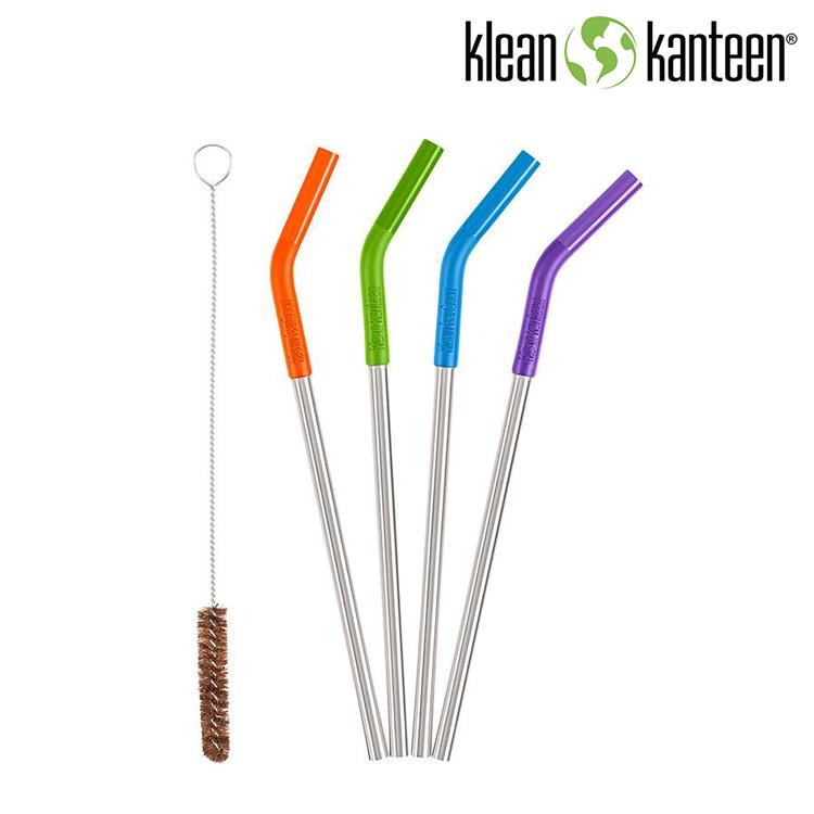 Klean Kanteen 不鏽鋼吸管KSTRAWCLR 彩色 城市綠洲  水壺、水瓶、不銹鋼瓶、吸管組