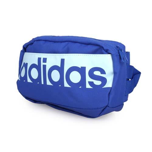 ADIDAS 運動腰包-登山 慢跑 路跑 單車 愛迪達 藍 F