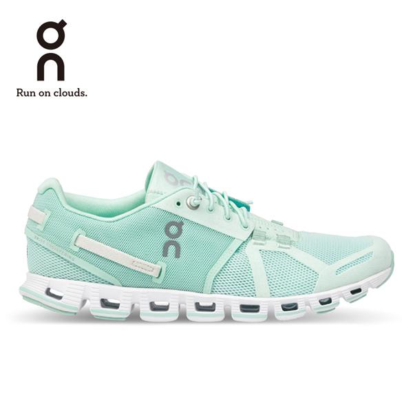 ON 瑞士雲端科技跑鞋-輕量雲馬卡龍系列 女款 青檸綠