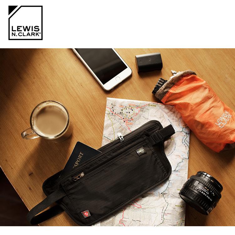 Lewis N. Clark RFID屏蔽腰包 1268 城市綠洲  防盜錄、貼身腰包、旅