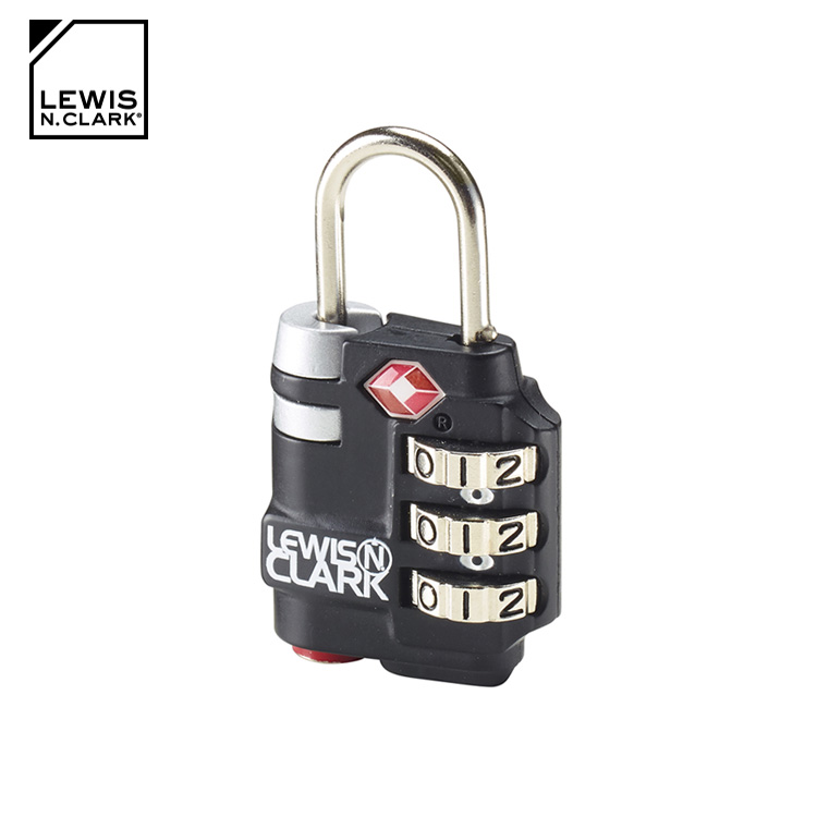 Lewis N. Clark TSA海關安全指示密碼鎖 TSA25 城市綠洲  海關鎖、旅行箱、旅遊 、美國品牌