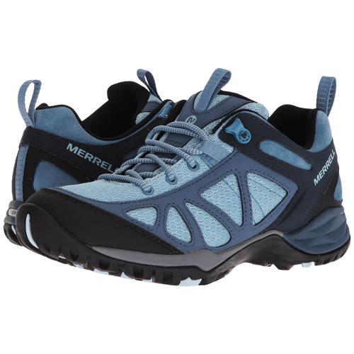 MERRELL GORE-TEX 女款健走鞋 雙密度中底 耐磨抗菌 登山鞋 運動鞋 防臭緩震@(J12434)