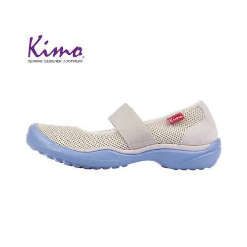 【Kimo 德國手工氣墊鞋】羊皮鏤空繫帶寬楦平底休閒鞋(純潔白K18SF073190)