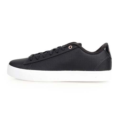 (女) ADIDAS DAILY QT CLEAN 休閒運動鞋-愛迪達 黑白