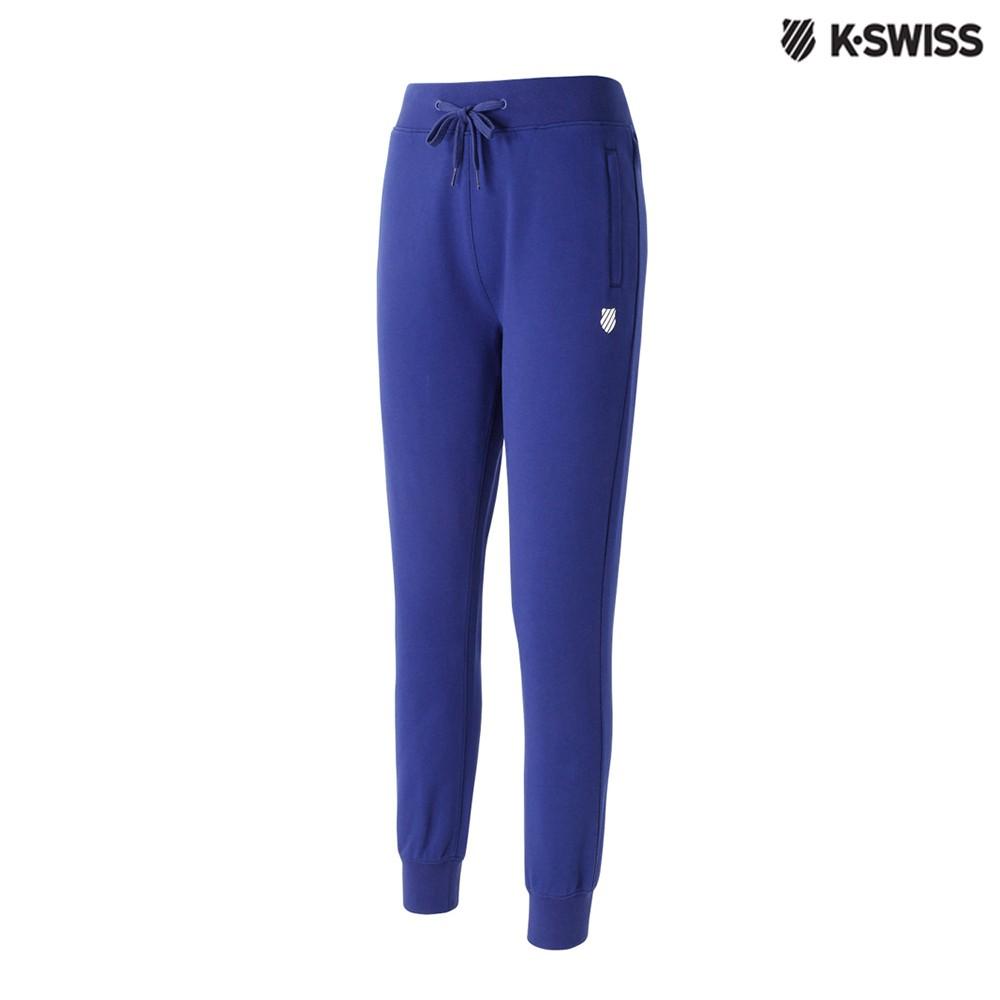 K-Swiss Basic Sweatpants休閒長褲-女-藍