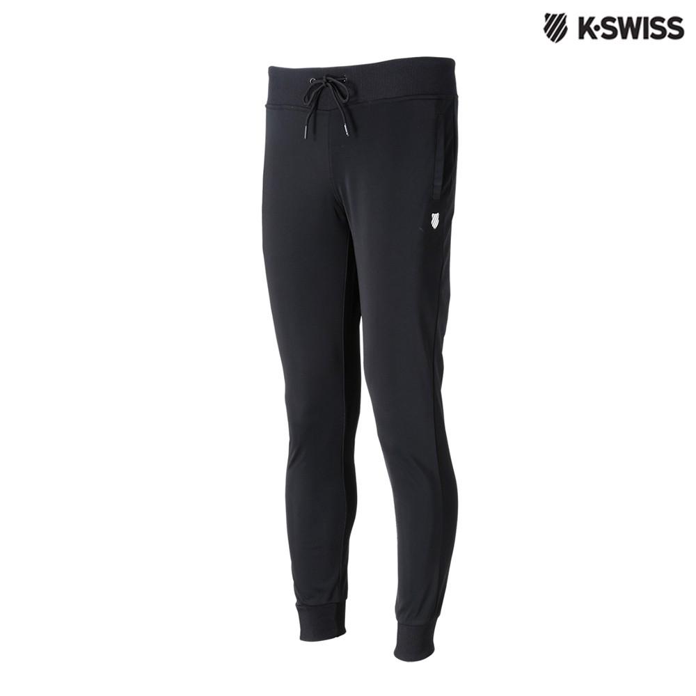 K-Swiss Tricot Pants運動長褲-女-黑