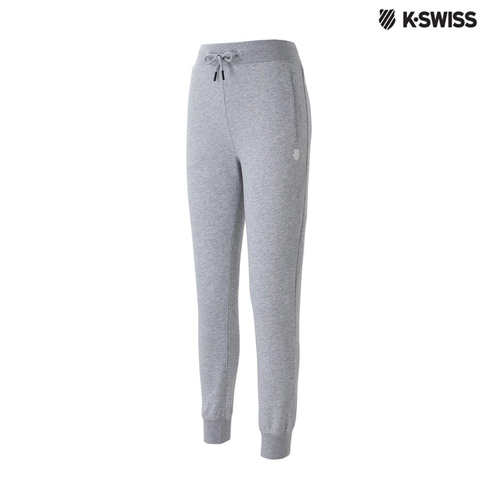 K-Swiss Basic Sweatpants休閒長褲-女-灰
