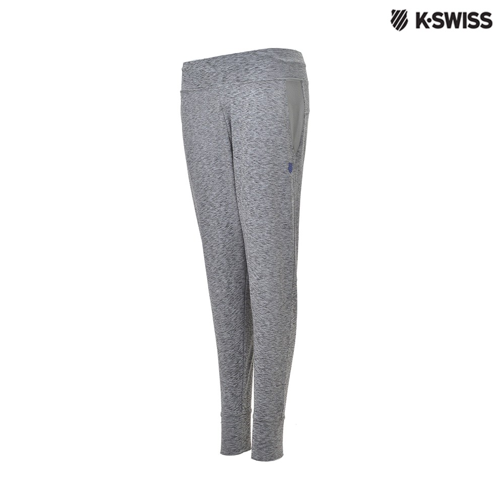 K-Swiss Track Knit Pants運動長褲-女-灰