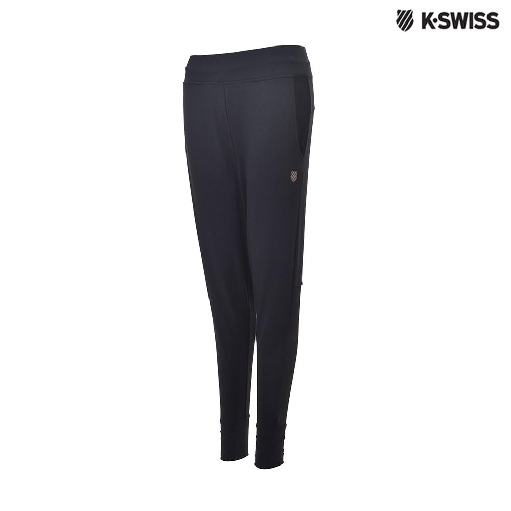 K-Swiss Track Knit Pants運動長褲-女-黑