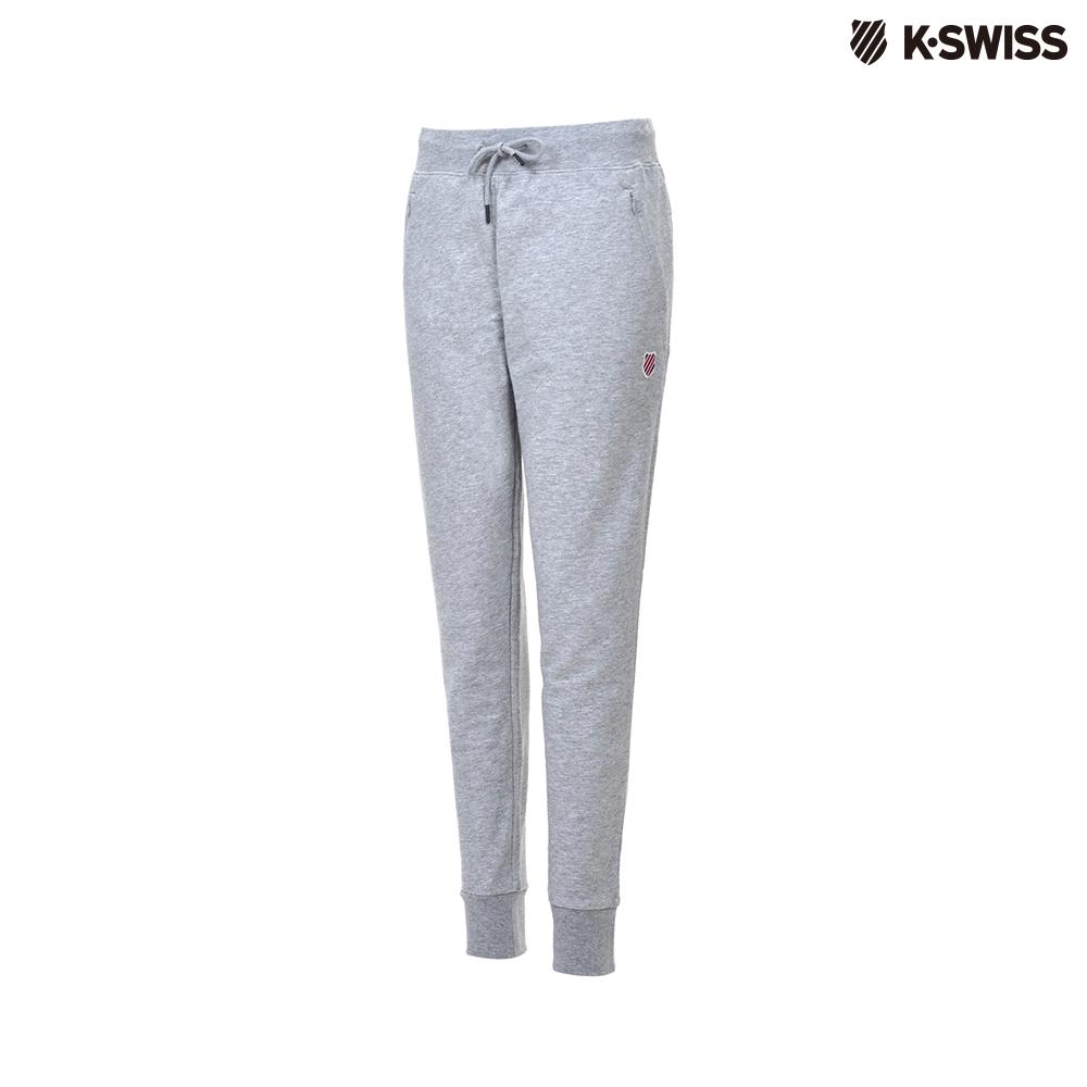 K-Swiss Sweatpants棉質長褲-女-灰