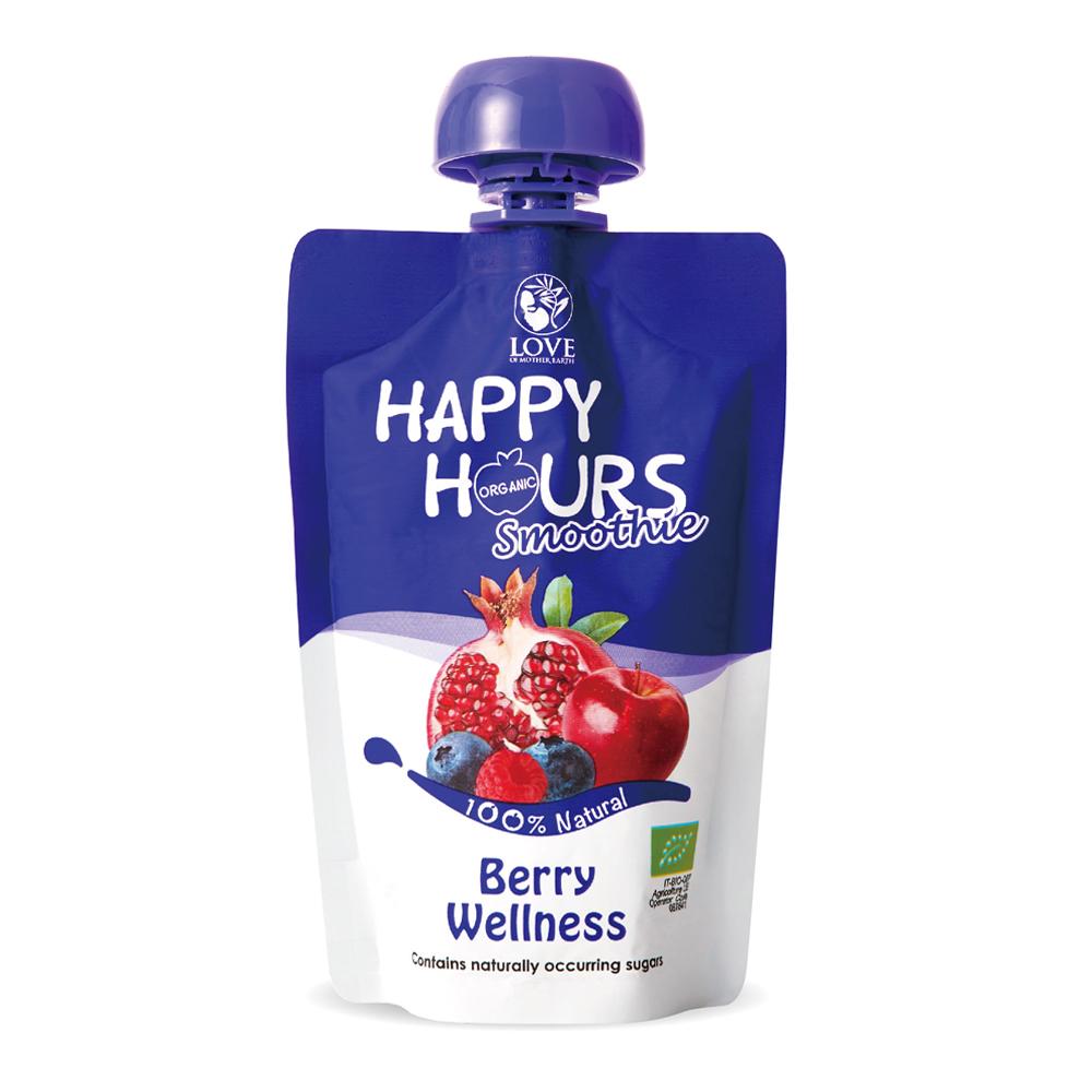 ~HAPPY HOURS~有機纖果飲  蘋果 紅石榴 覆盆莓 藍莓 6包