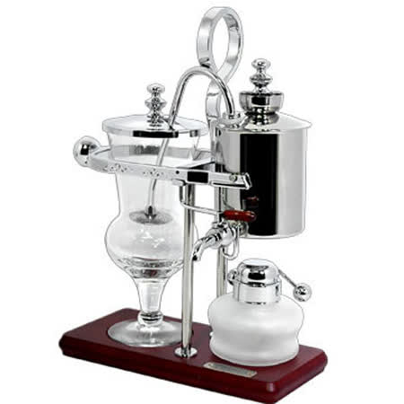 Tiamo CF490S 比利時咖啡壺 - 銀(HG0135)