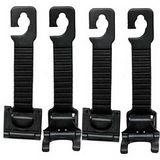 車用椅背多功能收納方便掛勾(4枚/組)(HD8108)