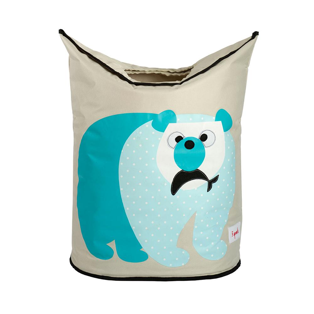 加拿大 3 Sprouts 藍天白熊洗衣籃