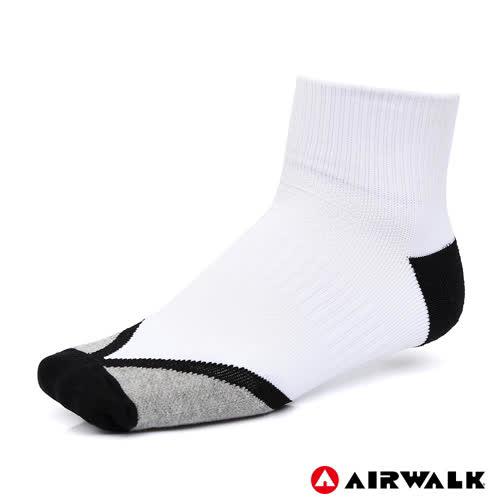 AIRWALK 短襪 白 A825350100 鞋全家福