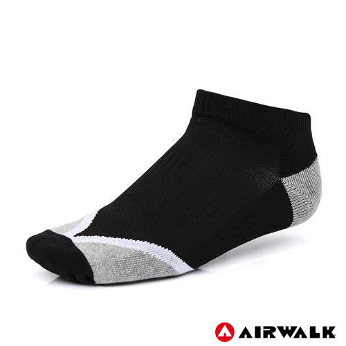 AIRWALK 踝襪 黑 A825350020 鞋全家福