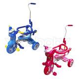 可愛貓兒童折疊三輪車