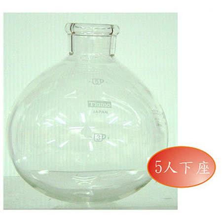CafeDeTiamo TCA-5 虹吸壺下座玻璃 (5人份) HG2708