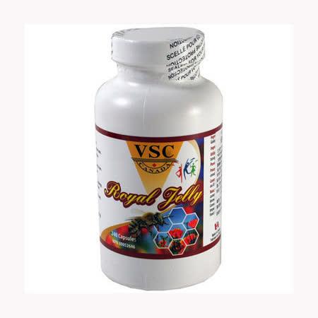 加拿大 VSC 健瑞蜂王漿膠囊(240粒/瓶)