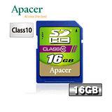 Apacer宇瞻 16GB SDHC Class10 記憶卡