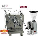 義大利BEZZERA GALATEA決戰天下 玩家級半自動咖啡機+900N義式咖啡磨豆機-銀色